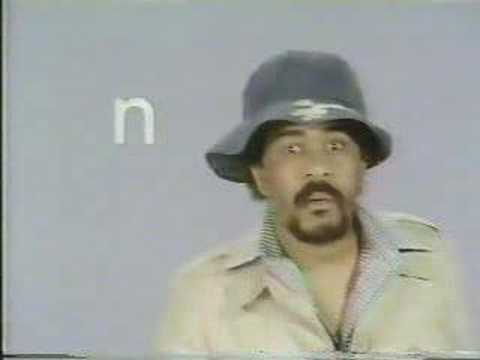 Classic Sesame Street - Richard Pryor's alphabet Video