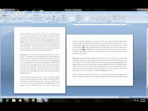 Microsoft word: how to make portrait & landscape in same doc