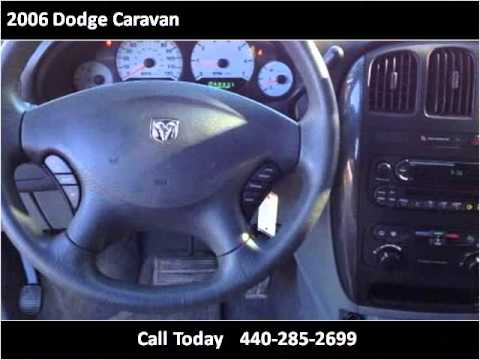 2006 Dodge Caravan Used Cars Chardon OH