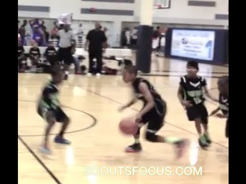 Amazing 10-Year-Old PG Jaden Jones Receives D1 Letter! Big PG with skill and handle!