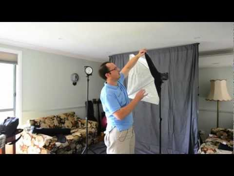 Elinchrom softbox - hands on set up