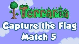 Terraria Multiplayer - Capture the Flag 5 (featuring Hero, Emma, Matt)