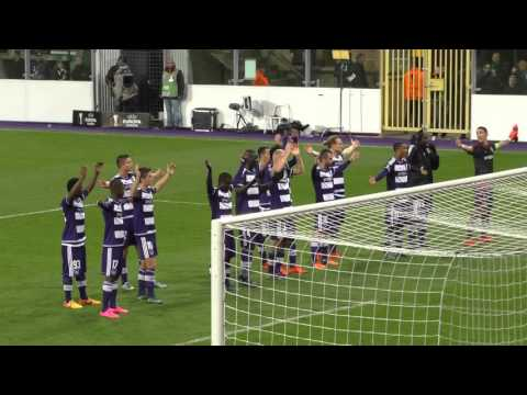 UEFA Europa League RSC Anderlecht - Tottenham Atmosphere after the game