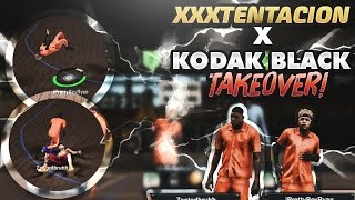 😱 KODAK BLACK AND XXXTENTACION TAKEOVER NBA 2K17 MYPARK ! | BREAKING NEWS | FLA. RAPPERS | #FREEX