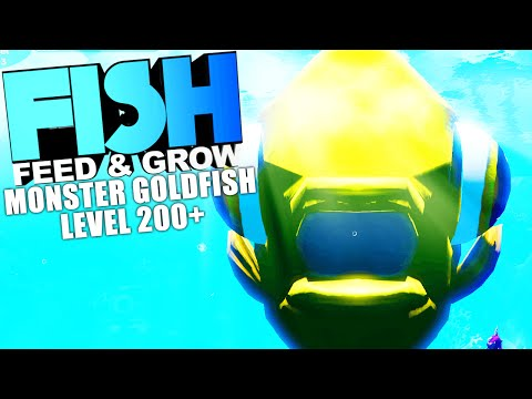 Feed And Grow Fish Lvl 200 Monster Goldfish Breaking Game