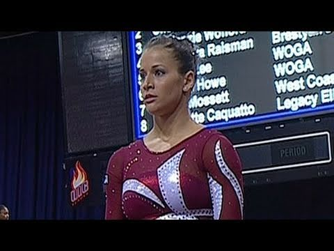Alicia Sacramone at 2011 Covergirl Classic - from Universal Sports
