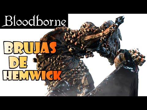 Bloodborne guia: BRUJAS DE HEMWICK - Boss del Paso del Osario + Herramienta para poner runas! EP.9