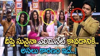 Deepthi Sunaina Eliminated From Bigg Boss 2 Telugu | Once Again Kaushal Army Proves Their Power