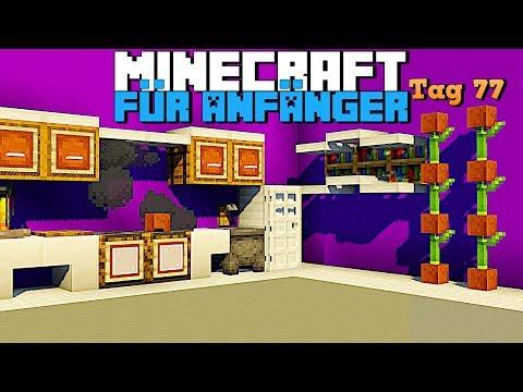 Wie baut man eine Küche in Minecraft 1.14.4 | Minecraft Küche für Anfänger Tag 77