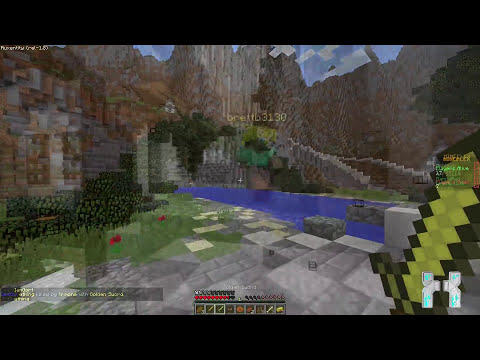 Minecraft 1.8 Hacked Client : Auxentity ! -  The minimalist Client [HD]
