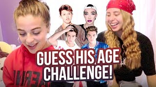GUESS HIS AGE CHALLENGE!! ft. Arii