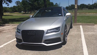 My 2012 Audi A7 review