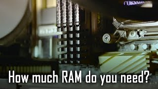 16GB vs 32GB vs 64GB RAM - How much do you need? (Gaming vs Rendering)