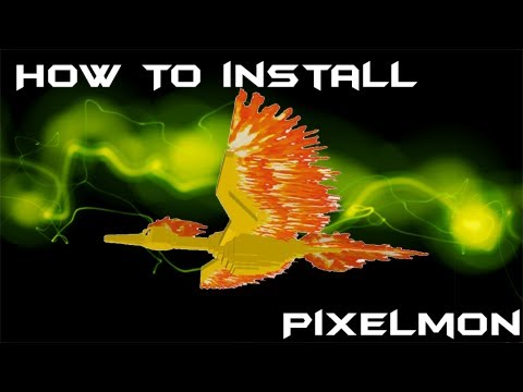 Minecraft 1.5.1: How To Install Pixelmon Mod!