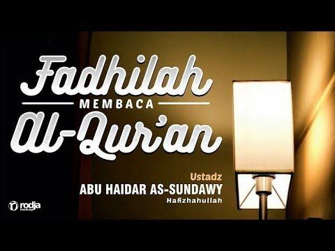 Karomah Para Wali | Ustadz Abu Haidar As-Sundawy