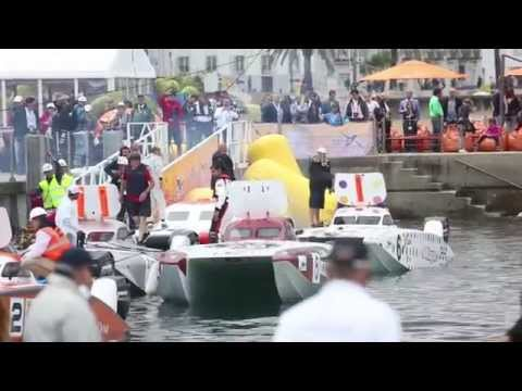 Abu Dhabi Xcat Powerboat Team In Cascais Grand Prix Round 3- 2015