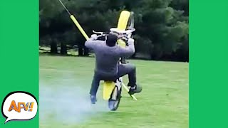 Play this video The FAIL Got AWAY From Him! р  Funny Fails  AFV 2021