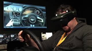 Ford demonstrates virtual prototyping in Immersive Vehicle Environment