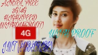 [latest + proof inside]Airtel free 4g/3g/2g latest  trick working 100%  all over india