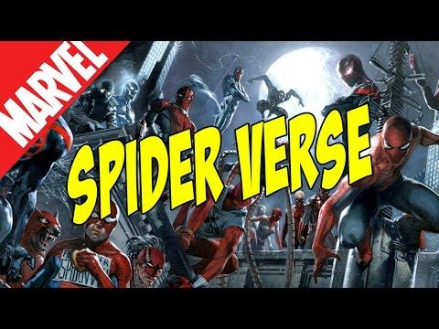 Spider Verse.  Человек-паук из всех вселенных [by Кисимяка]
