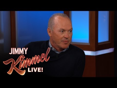 Jimmy Kimmel Tells Michael Keaton He Likes Spider-Man More Than Batman thumbnail