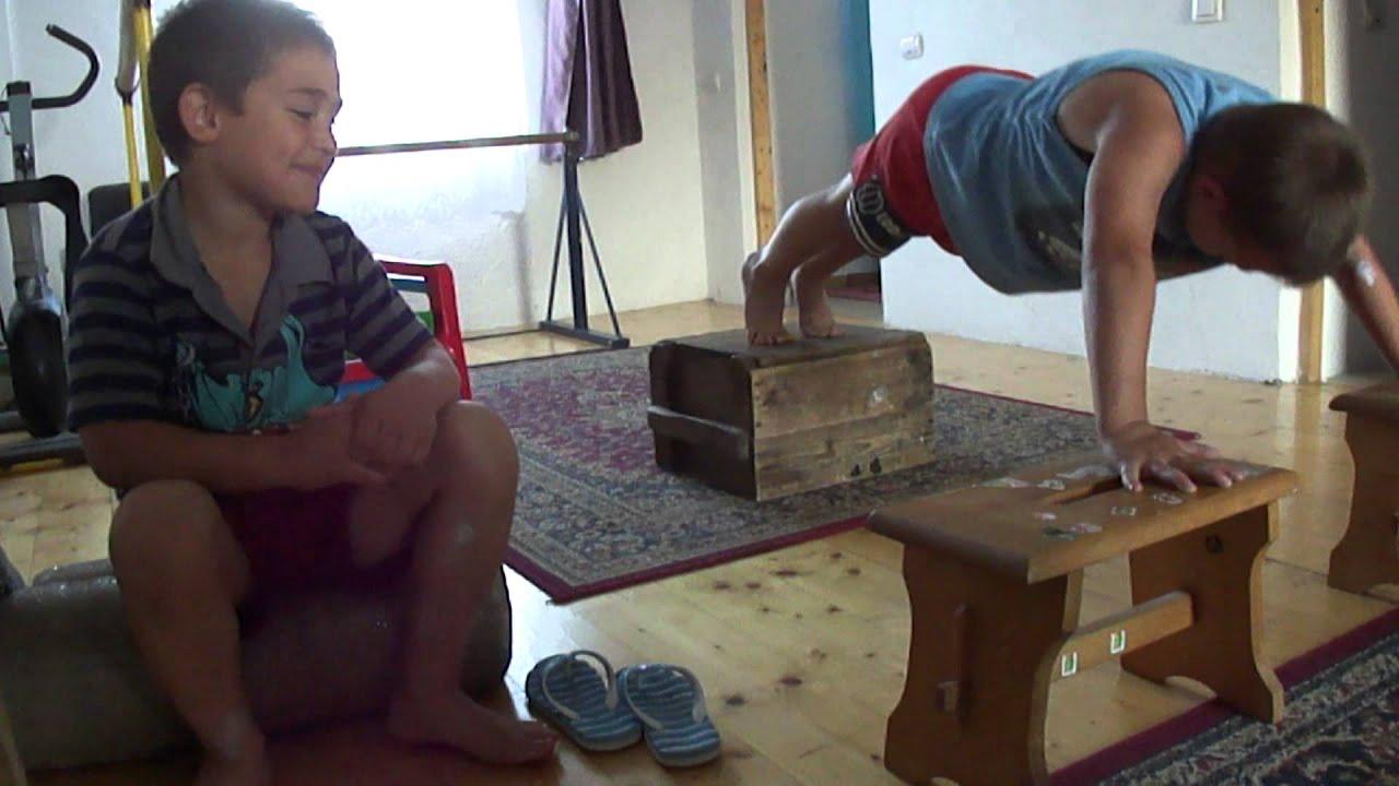 Pushups Between Chairs YouTube