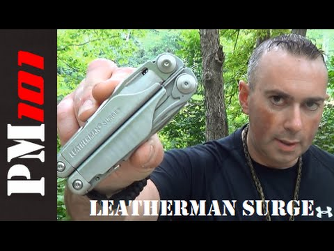 Leatherman Surge Review and Multitool Mentalities - Preparedmind101