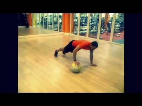Intense 4 minute Medicine Ball Workout! | Strength Cardio Routine Image 1
