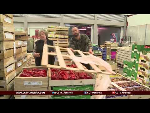 EU farmers feel hit from Russia food ban