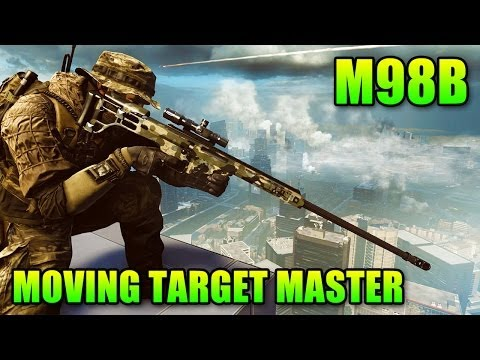 Sniper Sunday: M98B Best Rifle For Moving Targets (Battlefield 4 Gameplay/Commen