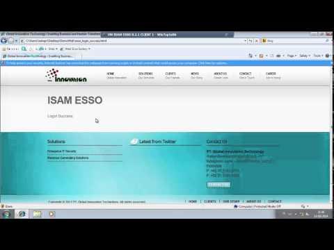 IBM Security Access Manager for Enterprise Single Sign-on v8.2.1 (Usage Presentation)