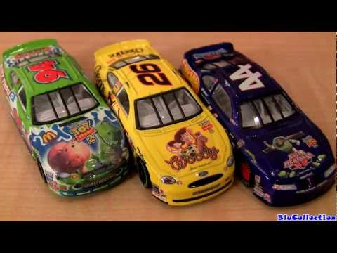 Disney Cars Toy Story 2 Hot Wheels Diecast Buzz, Sheriff Woody, Jessie, Hamm, Rex Nascar car toys