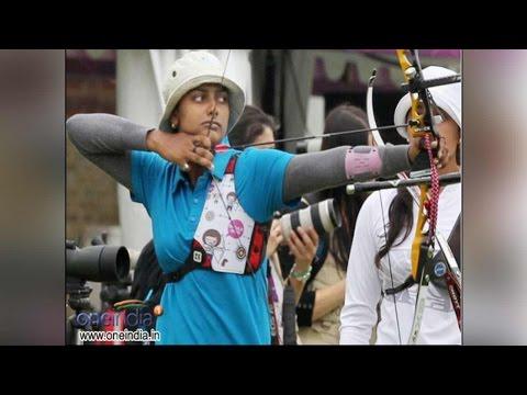 Deepika Kumari equals World Record at the Archery World Cup