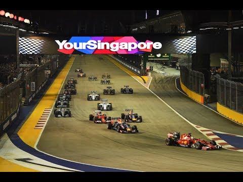 F1 Racing League S2 Singapur Rennen Highlights