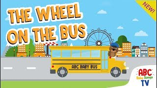The Wheels On The Bus | Baby Songs & Nursery Rhymes | Lagu Anak Anak