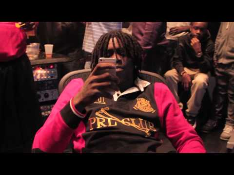 "DKG Ft. Chief Keef ""U Ain't Bout That"" Studio Session [Lets Eat Ent Submitted]"