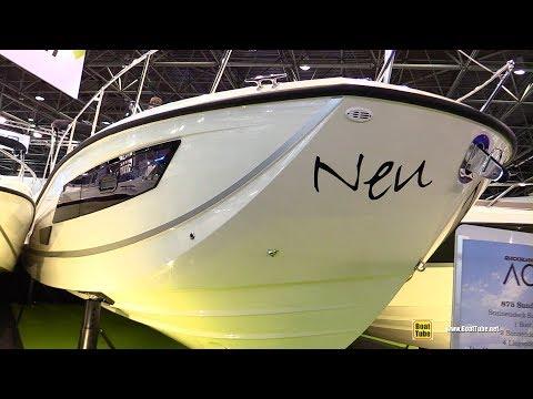2018 Quicksilver Activ 875 Sundeck Motor Boat - Walkaround - 2018 Boot Dusseldorf Boat Show
