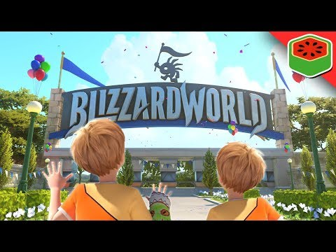 VIP FAST PASS - BLIZZARD WORLD! | Overwatch