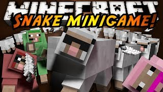 Minecraft Mini-Game : SNAKE!