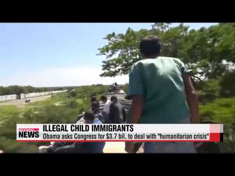Obama asks for $3.7 bil. to deal with migrant flood
