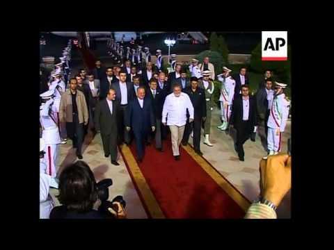 Brazil's president Lula, Senegal's Wade arrive for G15 meeting