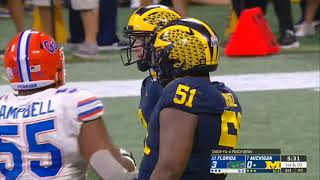 2018 Peach Bowl - Michigan Wolverines vs Florida Gators in 40 Minutes