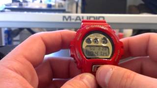 "DW6930A-4 30th Anniversary ""Rising Red"" Collection - Casio G-Shock Watch Review"