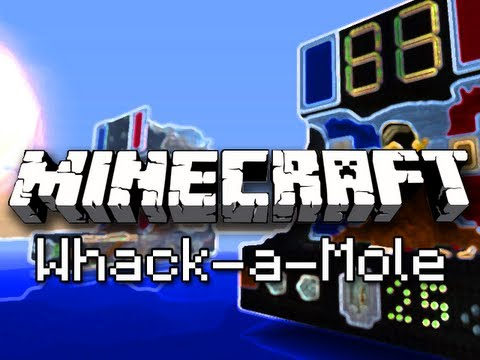 Minecraft: Whack-a-Mole