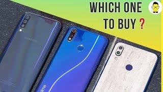 Realme 3 Pro vs Redmi Note 7 Pro vs Samsung Galaxy A50: which one to buy?
