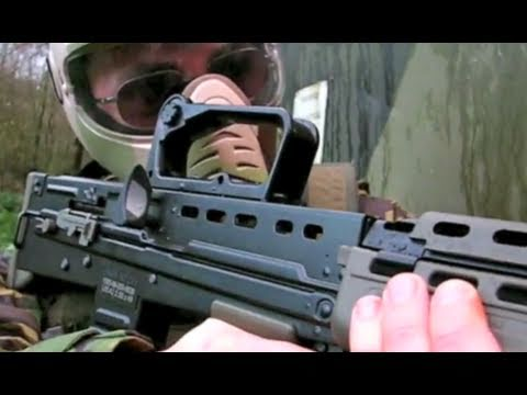 Airsoft War Commandos At The Fort Scotland L85 G36c G3/SG1