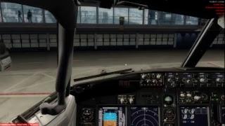 Stuttgart-Hamburg   Boeing 737-800   IVAO   P3D V4   Flynex
