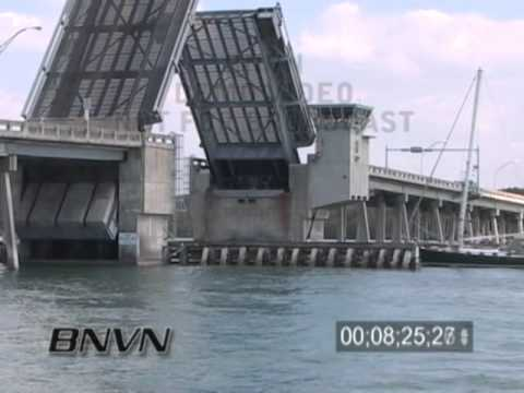 2/17/2006 Draw Bridge Footage From North Siesta Key, Sarasota FL