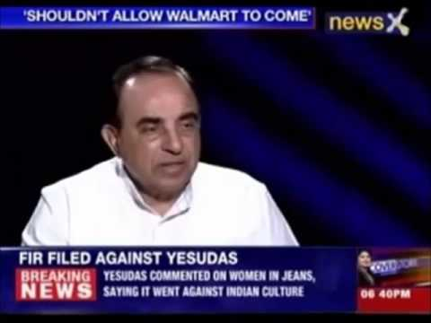 WalMart Should not come India - Dr Subramanian Swamy