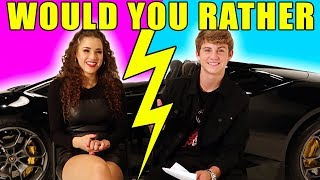Would You Rather!? (MattyBRaps & Gracie Haschak)